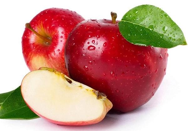 Салат из редиса с яблоками