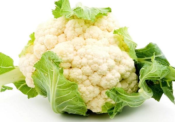 Салат из редиса и цветной капусты