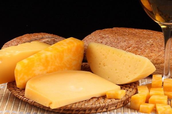 Закуска с грибами и сыра