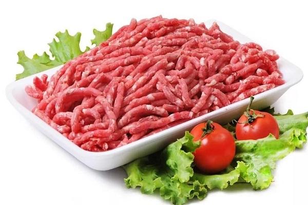 Салат с говяжьим фаршем