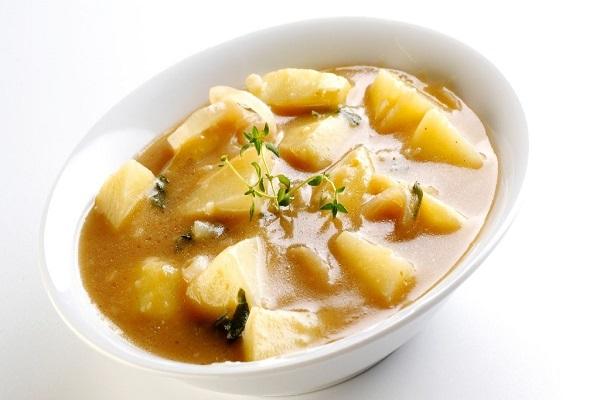 Картофельный суп с мясом