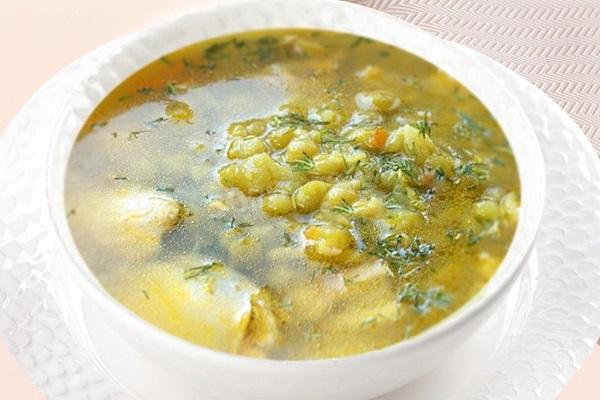 Суп с зеленым горошком в мультиварки
