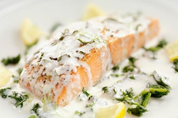 Рыба в сливочном соусе в мультиварке
