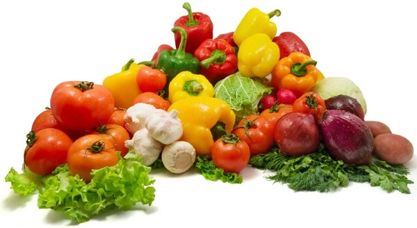 Окрошка овощная на квасе или кефира