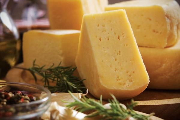 Закуска с грибами и сыром