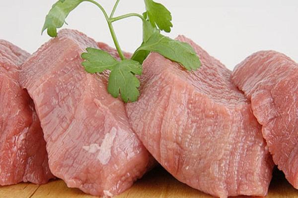 Салат из телятины и макарон