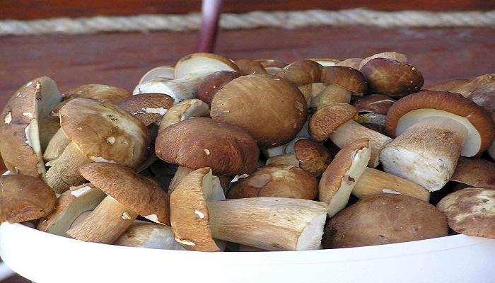 Закуска из грибов и чеснока